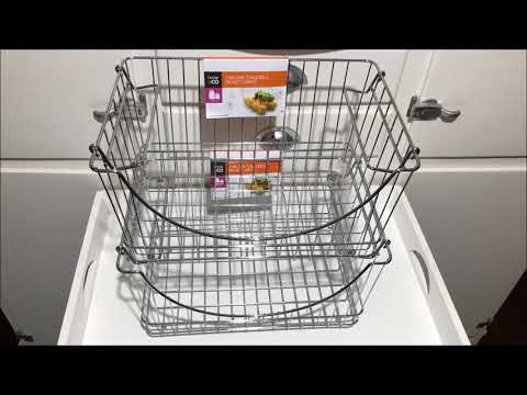 Chrome Stackable Basket Large Best Price Perth