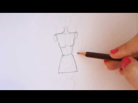 TUTORIAL - Fashion Figure Step by Step