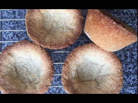 Almond Tart Shells | Easy to Make Tart Shell Recipe | Gluten Free Tart | Easy Tart Recipe