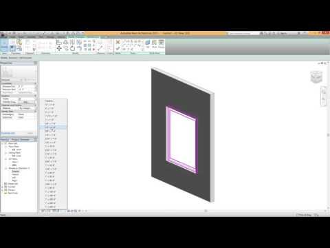 Parametric Window Family - Revit Tutorial