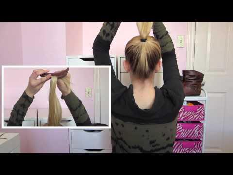 DIY - Easy BUN for THIN Hair