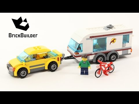 Lego City 4435 Car and Caravan - Lego Speed Build