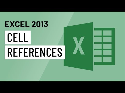 Excel 2013: Cell References