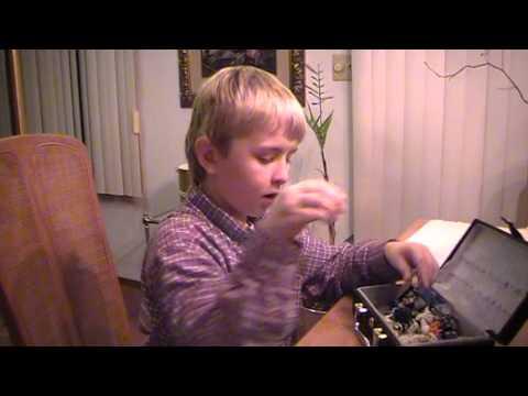 Andrew explains Lego war To War correspondent Grandpa
