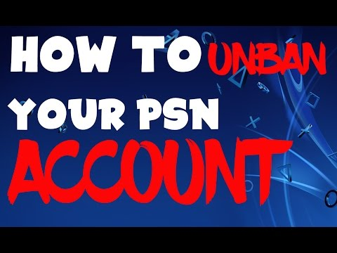 How to UNBAN your PSN Account! (PS4 & PS3)