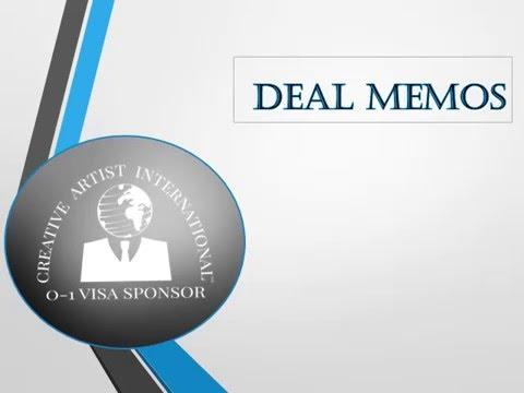 O1 Visa Deal Memo's