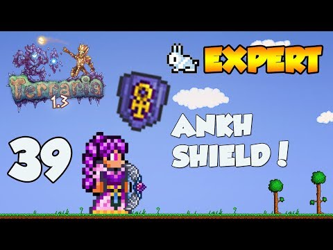 Terraria 1.3 Expert Let's Play - ANKH SHIELD [39]