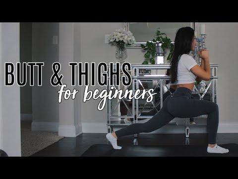 10 Minute Butt & Thigh Burner for Beginners