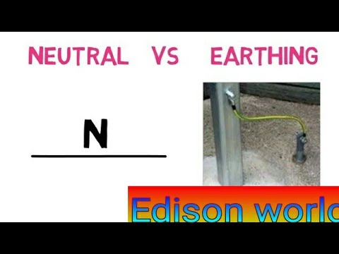 What is difference between neutral and earth, ground, line in AC supply