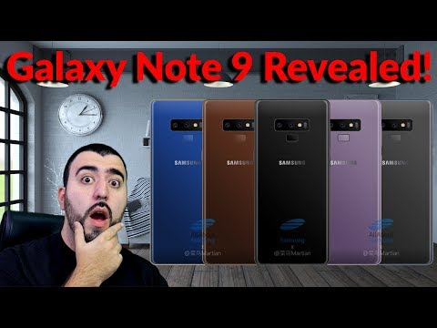 Samsung Galaxy Note 9 First Images With Colors, Release Date & Some New Features - YouTube Tech Guy