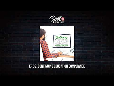 Ep 39: Continuing Education Compliance