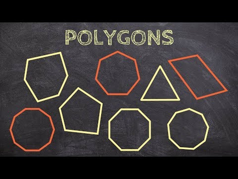 What are the polygons and their interior angle sum from 3 sides to 10