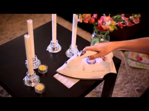 How to Remove Candle Wax From Tables, Fast and Easy | #tryVIVAwet