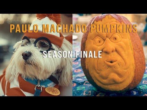 Paulo Machado 3D Pumpkins Season Finale