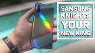 Samsung Galaxy Note 10 Plus Unboxing & First Impressions AURA GLOW