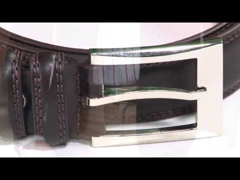 Brown Formal Leather Belt