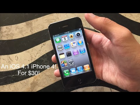 A $30 iPhone 4 Running iOS 4.1!