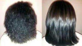 علاج وترطيب الشعر الخشن والجاف والتالف