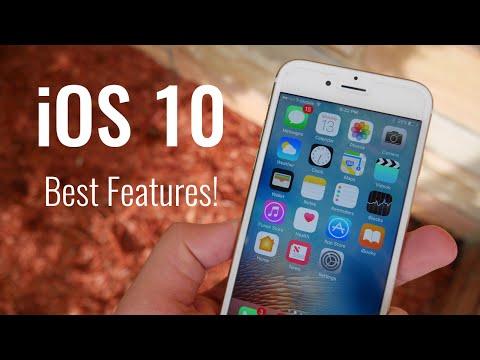 Top 5 BEST iOS 10 Features!