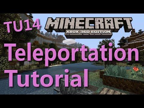 Minecraft Xbox 360 Teleportation Tutorial