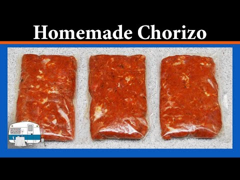 How to make your own Chorizo