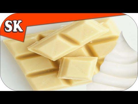 HOW TO MAKE WHITE CHOCOLATE GANACHE