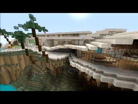 Minecraft PS3 Edition : Build Showcase Ep1 - Tony Stark mansion tour!!!!