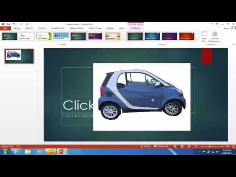 Remove Background from Images in PowerPoint tutorial