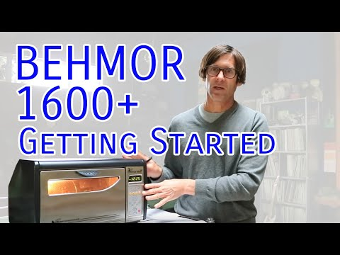 Getting Started with the Behmor 1600+ Coffee Roaster