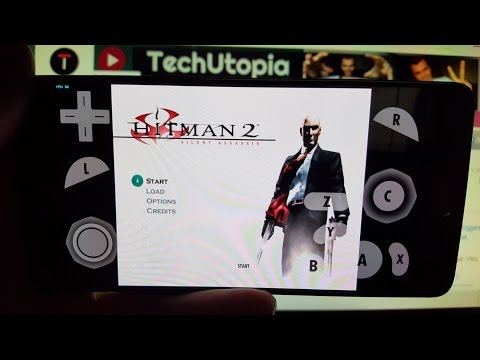 Playing Hitman 2: Silent Assassin on Android smartphone Dolphin Emulator/oneplus 3T