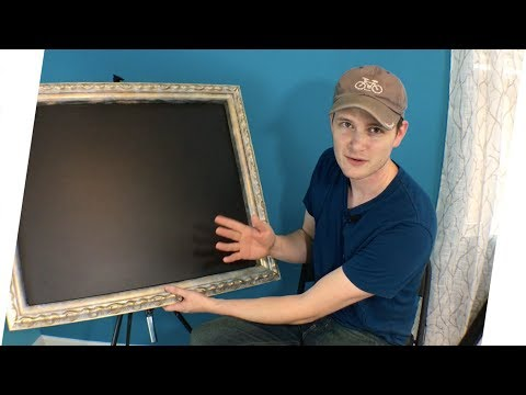 Chalkboard Picture Frame Project
