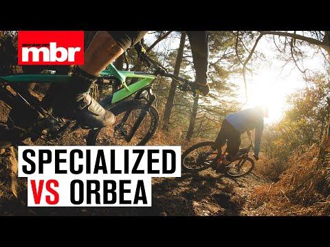 Specialized vs Orbea | Enduro Bike Head to Head | Mountain Bike Rider