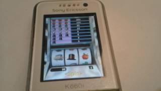 Slot Machine Gameplay On Sony Ericsson K660i Java Game 240x320