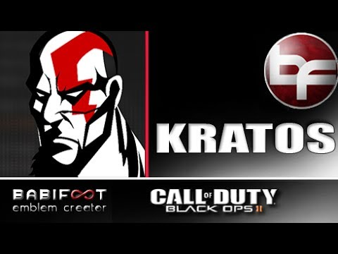 COD Black Ops 2 Emblem Tutorial  - Kratos