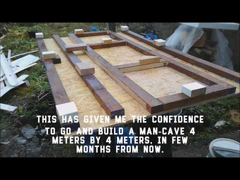 Complete (solid & waterproof) shed building blog, tips and hacks