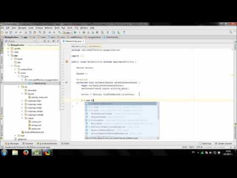 Develop simple Random Color Generator in Android Studio