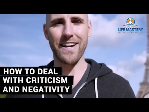 How To Deal With Criticism And Negativity