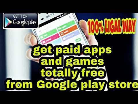how to download paid apps and games from Google play store for free. 100%ligal way