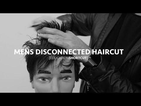 Mens Disconnected Haircut - Education Shortcut #002
