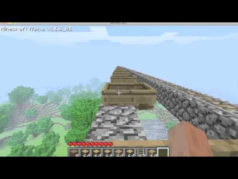 Minecraft Speed Test - Boat Teleporting vs Boosted Carts