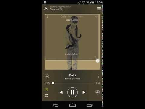 How to use Musixmatch with Spotify on Android and have Lyrics while playing Spotify
