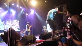 The crowd sing Story Of My Life ! - Janoskians Got Cake Tour Antwerp 11.09.14