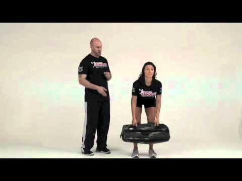 Ultimate Sandbag Exercises Clean and Press Best Full Body Exercise