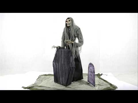 Graveyard Animated Reaper. Animated Props. Halloween Props.