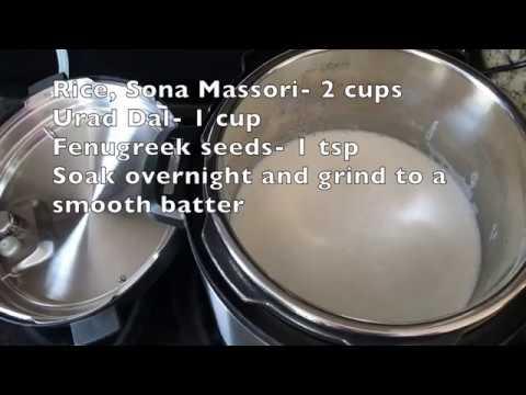 Instant Pot Dosa Batter Fermentation