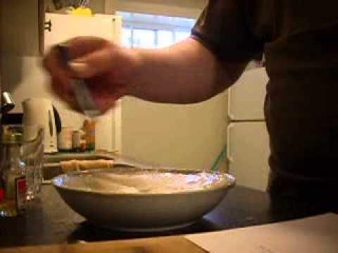 fish n chips batter  pan fryed pt 1