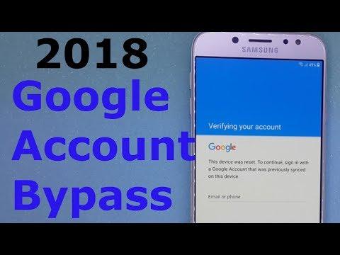 New 2018 Bypass Google Account Verification Samsung Easy WAY