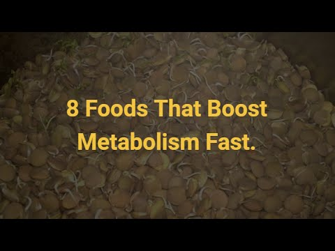 8 Foods That Boost Metabolism Fast