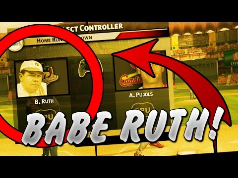 COULD BABE RUTH WIN A HOMERUN DERBY?! MVP BASEBALL 2004