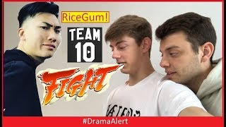 RiceGum & Team 10 setting up IRL FIGHT! #DramaAlert FaZe Banks Jake Paul Chance and Anthony